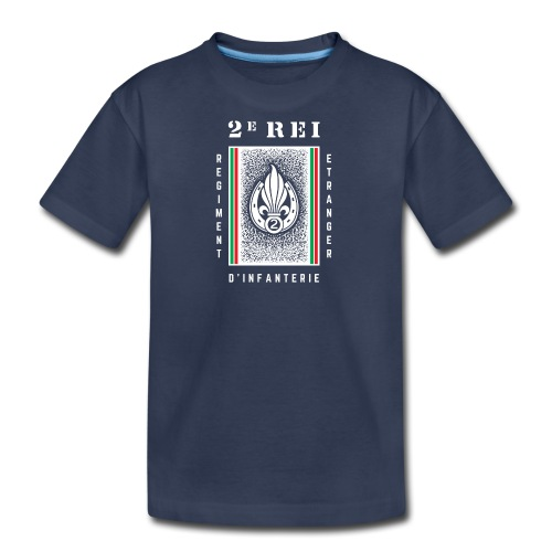 2e REI - Infantry Regiment - Kids' Premium T-Shirt - Kids' Premium T-Shirt