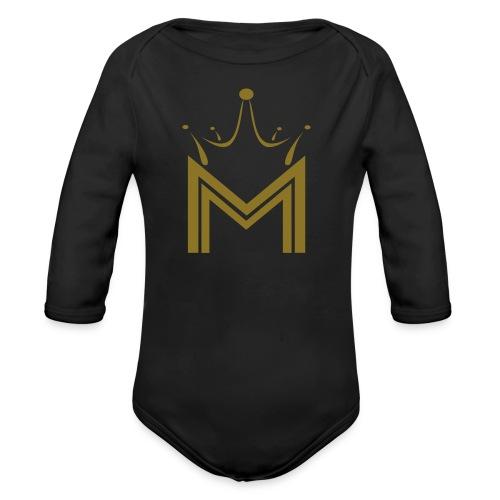 Melanin Monroe long sleeve onesie - Organic Long Sleeve Baby Bodysuit