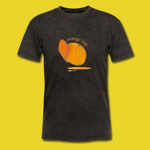 Orange Cap - Men's T-Shirt
