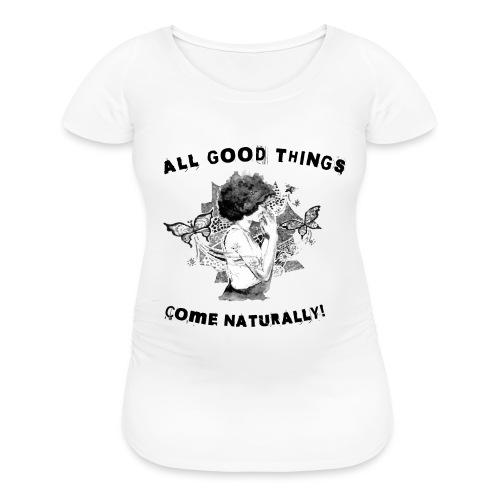 AFRO TEAM NATURAL HAIR Black Pride - Women's Maternity T-Shirt