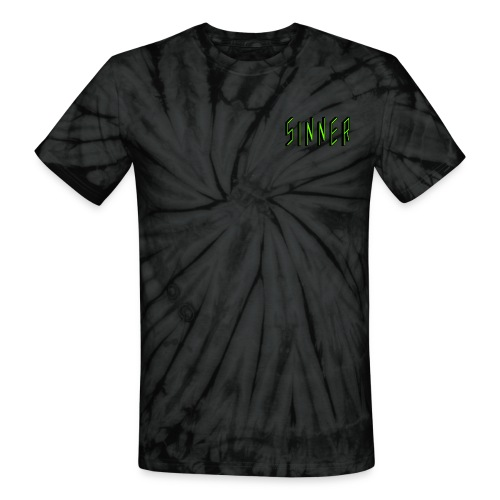 SINNER T-SHIRT - Unisex Tie Dye T-Shirt