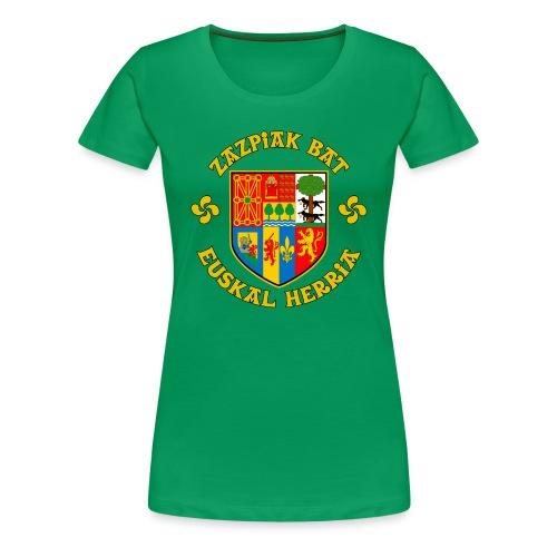 Zazpiak Bat - Women's Premium T-Shirt