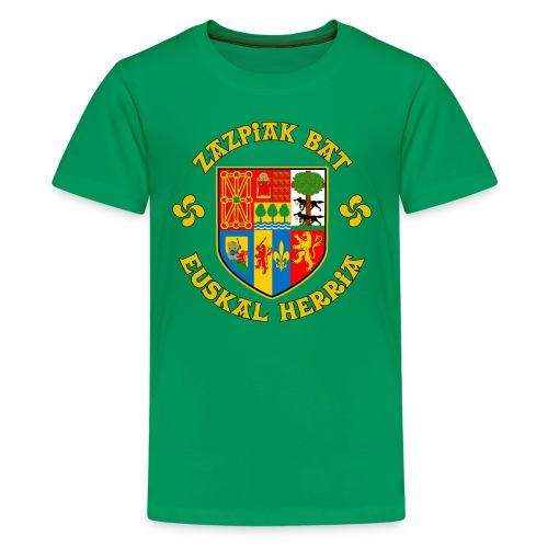 Zazpiak Bat - Kids' Premium T-Shirt
