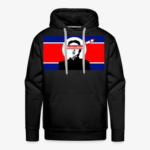 North Korea Destruction - Men's Premium Hoodie