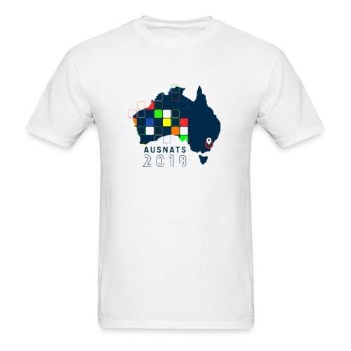 Australian Nationals 2018 T-shirt Adult Size - Men's T-Shirt