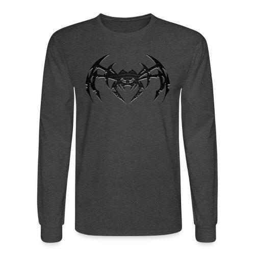Metal Spyder Dark ArachKnight - Men's Longsleeve Hoodie Shirt - Men's Long Sleeve T-Shirt