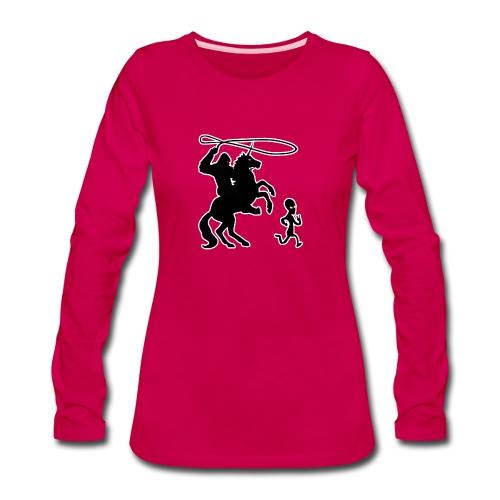 Cryptid Games - Women's Premium Long Sleeve T-Shirt