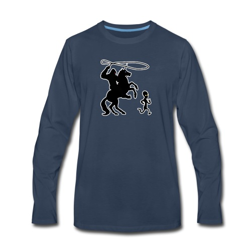 Cryptid Games - Men's Premium Long Sleeve T-Shirt