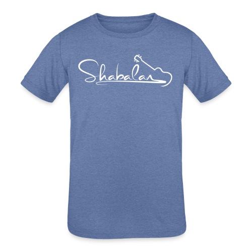 Shabalan Ukulele Kid's shirt - Kids' Tri-Blend T-Shirt