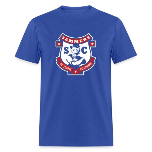 Sammers Logo – Men's Blue Tee - Men's T-Shirt