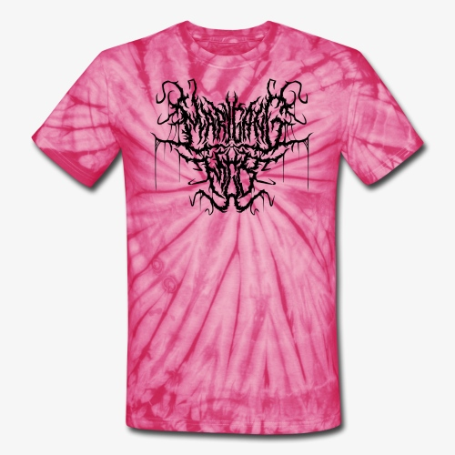 Mgb tie dye evil logo - Unisex Tie Dye T-Shirt