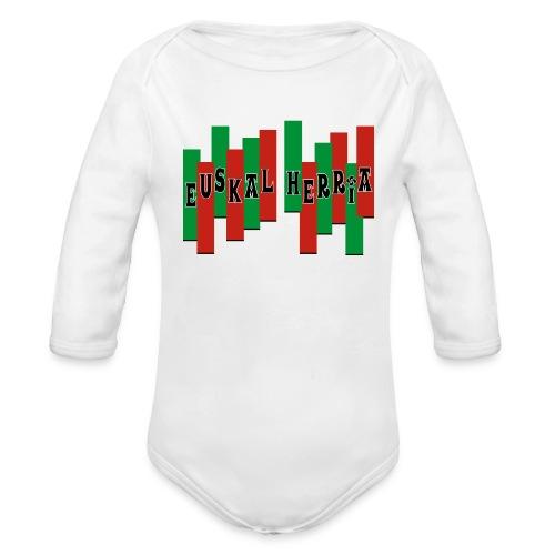 Pays Basque - Organic Long Sleeve Baby Bodysuit