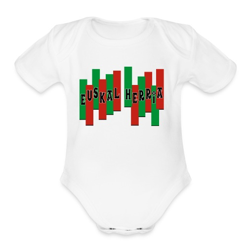 Pays Basque - Organic Short Sleeve Baby Bodysuit