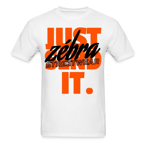 Just Send It Tee - White - Men's T-Shirt