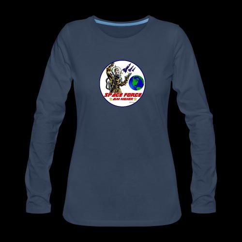Space Force Women's Premium Long Sleeve T-Shirt - Women's Premium Long Sleeve T-Shirt