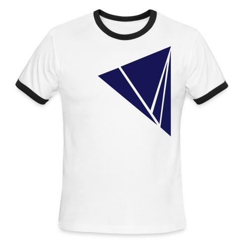 Explode in Navy - Men's Ringer T-Shirt