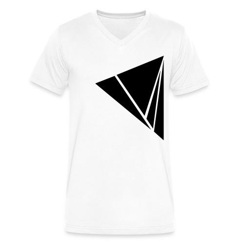Explode in Black - Men's V-Neck T-Shirt by Canvas