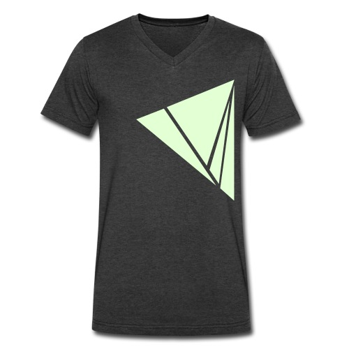 Explode in Glow in the Dark - Men's V-Neck T-Shirt by Canvas