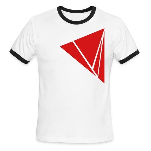 Explode in Red - Men's Ringer T-Shirt
