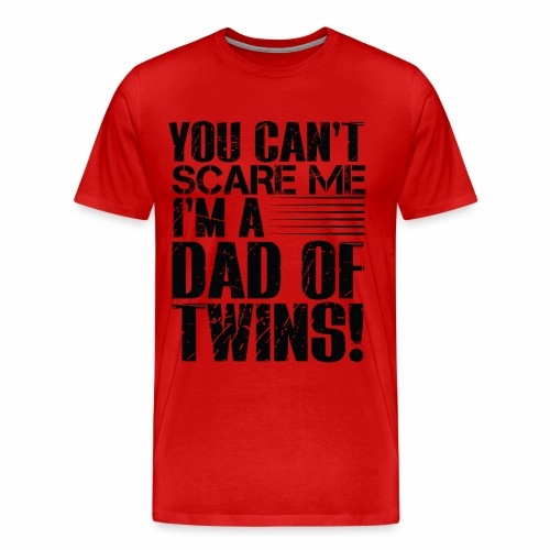 Best Selling DAD OF TWINS PARENT T-Shirts - Men's Premium T-Shirt