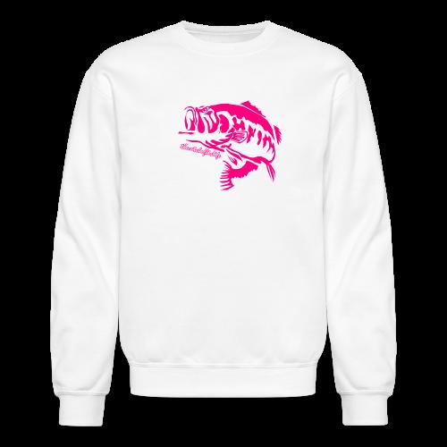 Pink&WhiteBassCrew - Crewneck Sweatshirt