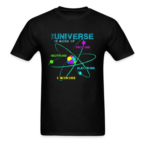 Funny Physics Science Chemistry Biology Sarcastic Humor - Men's T-Shirt