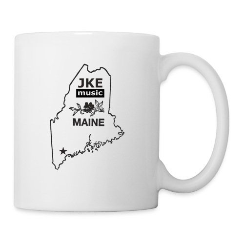 Maine JKE state logo Where you rep? Trucker hat  - Coffee/Tea Mug