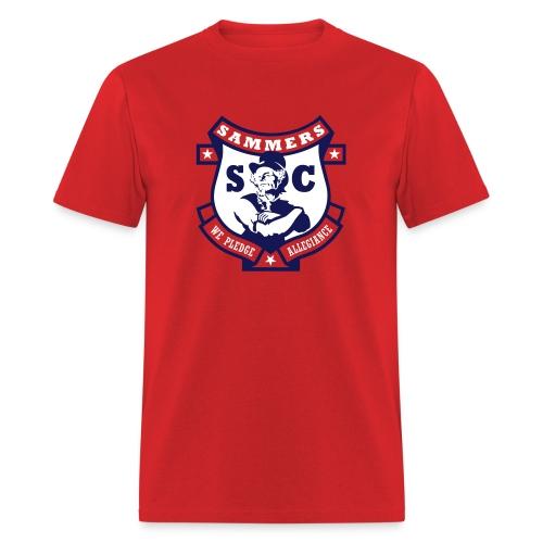 Sammers Logo – Men's Red Tee - Men's T-Shirt