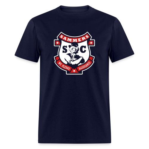 Sammers Logo – Men's Navy Tee - Men's T-Shirt