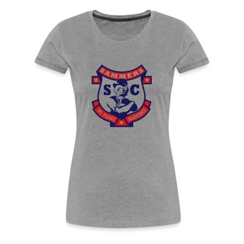 Sammers Logo – Ladies' Gray Tee - Women's Premium T-Shirt