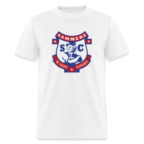 Sammers Logo – Men's White Tee - Men's T-Shirt