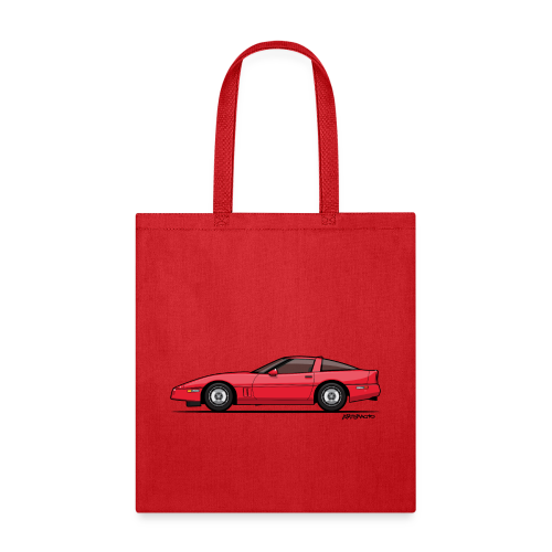 Red American C4 Coupe 1984 - Tote Bag