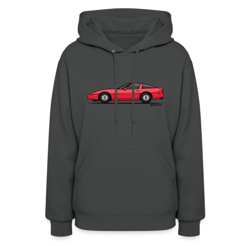 Red American C4 Coupe 1984 - Women's Hoodie