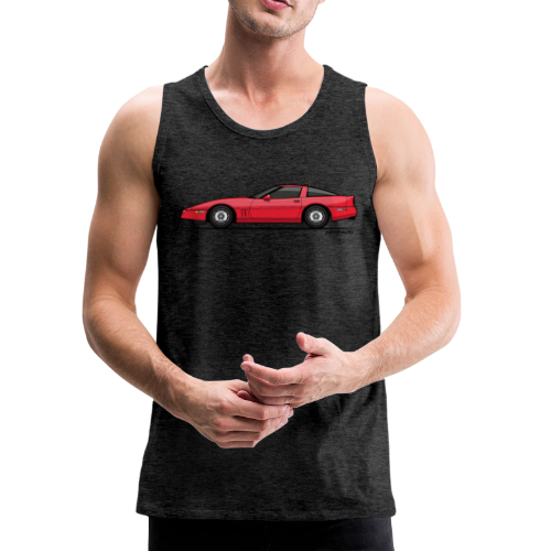 Red American C4 Coupe 1984 - Men's Premium Tank