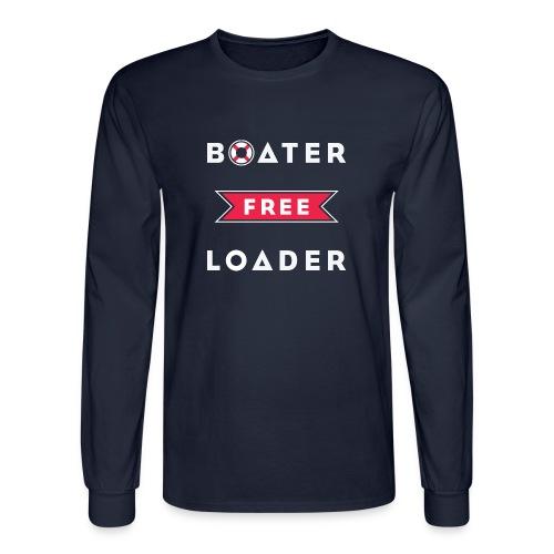 Boater Free Loader - Men's Long Sleeve T-Shirt