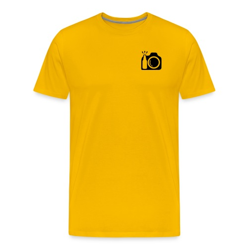 Plain Logo - Men's Premium T-Shirt