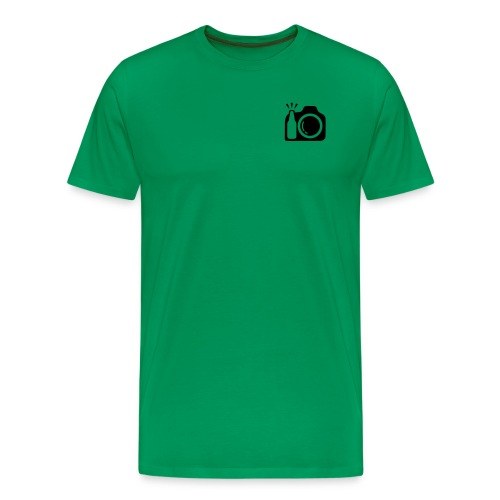 Plain Logo - Men's Premium T-Shirt