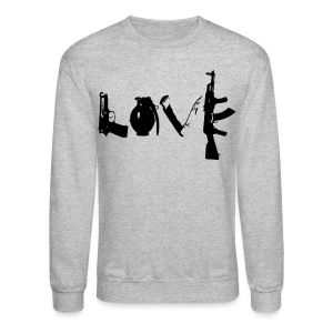 Make Love Not War Crewneck - Crewneck Sweatshirt