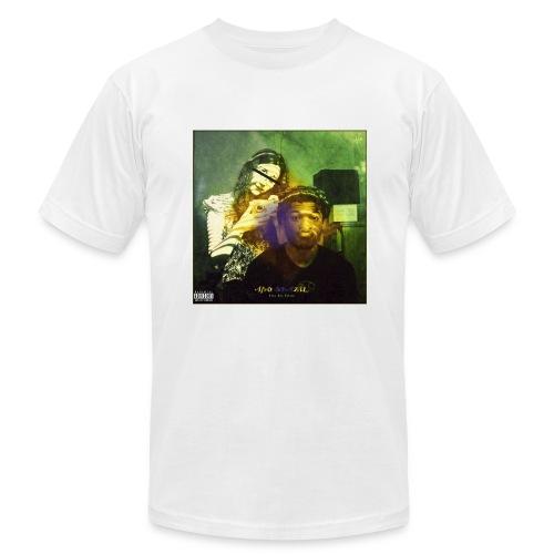 Afro-Brazil White Tee (Male) - Men's Fine Jersey T-Shirt