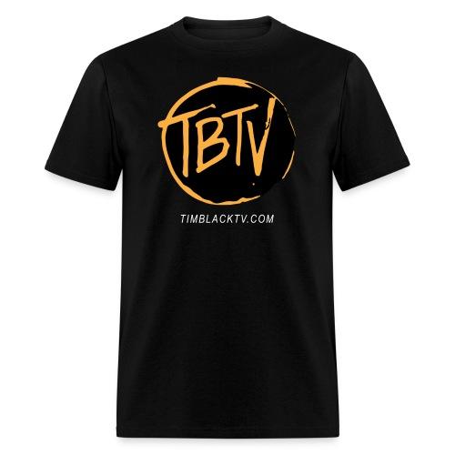 TBTV Emblem - Orange - Mens - Men's T-Shirt