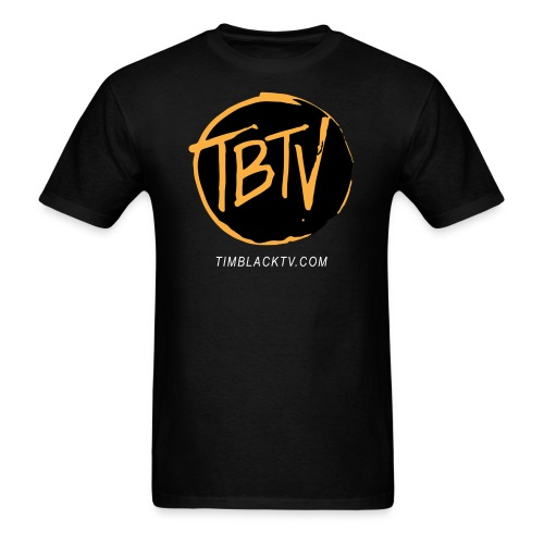 TBTV Emblem - Orange - Mens - Men's T-Shirt