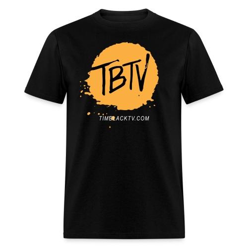 TBTV Splash - Orange - Mens - Men's T-Shirt