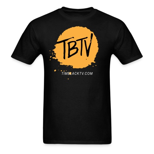 TBTV Splash - Orange - Mens - Men's T-Shirt