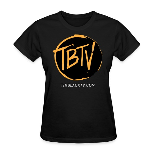 TBTV Emblem - Orange - Womens - Women's T-Shirt