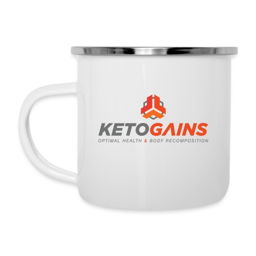 Powered by Coffee Retro Cup - Camper Mug
