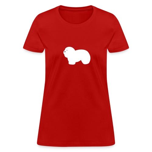 Women's T-Shirt - Coton de Tulear tee.