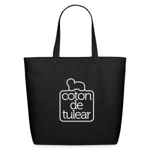 Eco-Friendly Cotton Tote - Tote all your grooming and show supplies in this adorable Coton deTulaear tote!