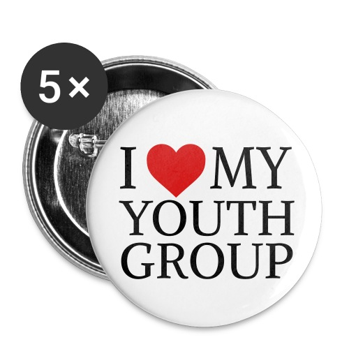 I Heart My Youth Group Button - 1 - Small Buttons
