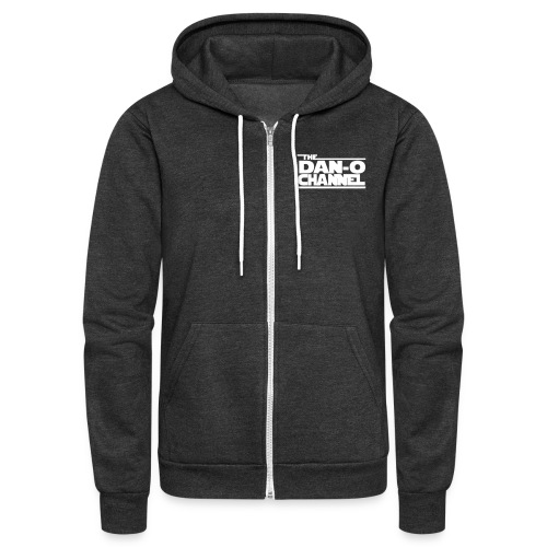 Dan-O Channel Toy Reviews Hoodie - Unisex Fleece Zip Hoodie
