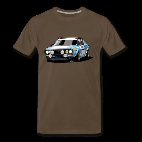 R17 Gordini 1974 Rally Car - Men's Premium T-Shirt